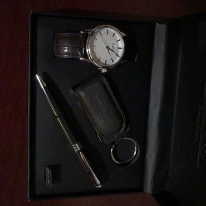 L& Co Other - Men's watch, keychain and pen set